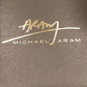 Michael Aram ceramic and brass sheep ornament